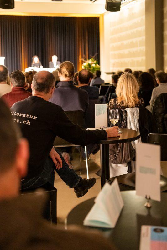 Voller Literaturhaus-Saal bei der Lesung von Ursula Krechel © Ben Koechlin