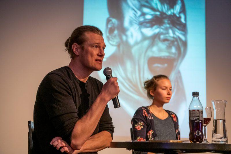 Nico Bleutge und Joceline Ziegler © Ben Koechlin