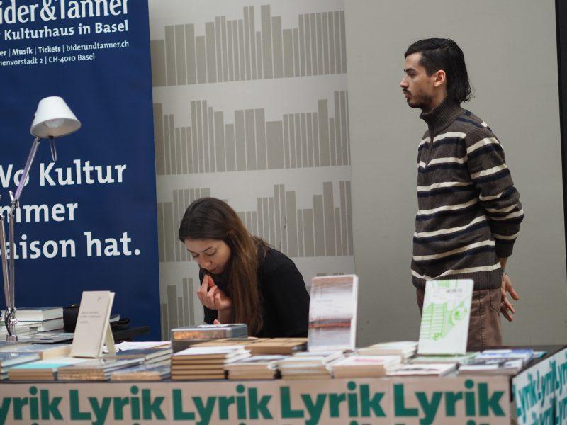 Einsatz im Hintergrund: Annina Niederberger und Francisco Bürgi