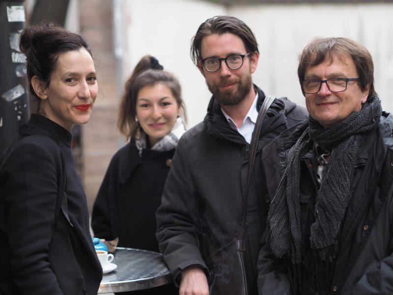 Ariane von Graffenried, Alisha Stöcklin, Raphael Urweider, Ferdinand Schmatz